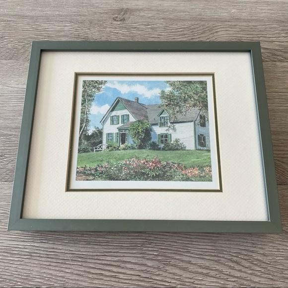 Vintage • Hugh Crosby Wall Art + Frame Countryside